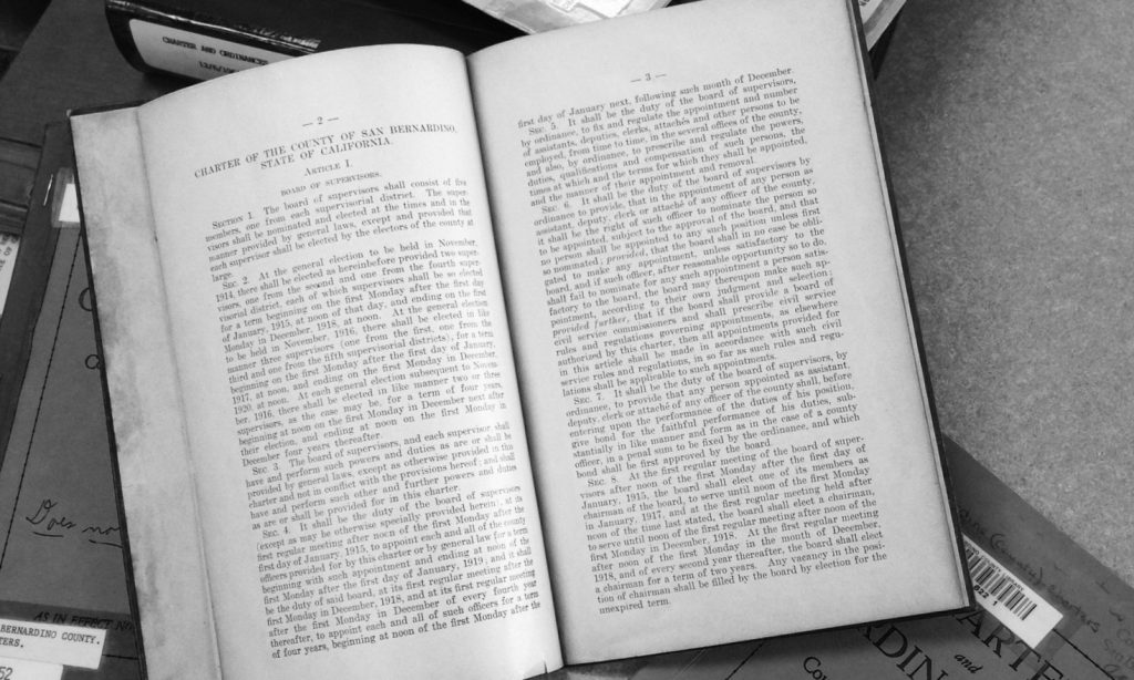 The 1913 County Charter